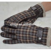 gants en cuir de peau de mouton
