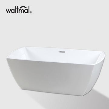 Arc Rectangle Acrylic FreeStanding Bathtub