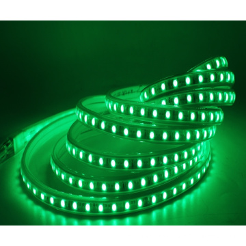 Decoración RGB Led Strip Lights SMD 5050 60Led / M, 328 pies / rollo, con tapa de tubo de plástico