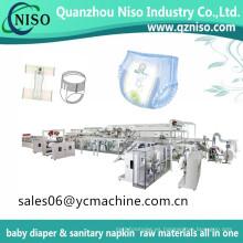Máquina de pañal del bebé encima del servo fácil fácil para el pañal de los pantalones de bebé con el certificado del CE