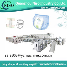 Full Servo Easy up Baby Diaper Machine for Baby Pants Diaper with Ce Certificate