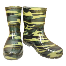 Camouflage Waterproof green PVC gumboots mens Fishing Boots
