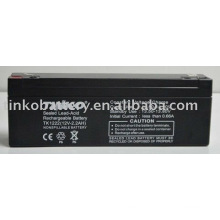 Ácido de bateria 12V chumbo 2.2ah com boa qualidade e melhor preço