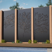 Mild Steel Fence Screen Panels