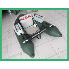 Inflatable Fishing Boat for One Person with Paddle