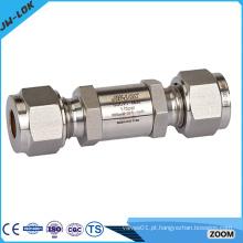 Válvula unidirecional de aço inoxidável 316, válvula de retenção de água