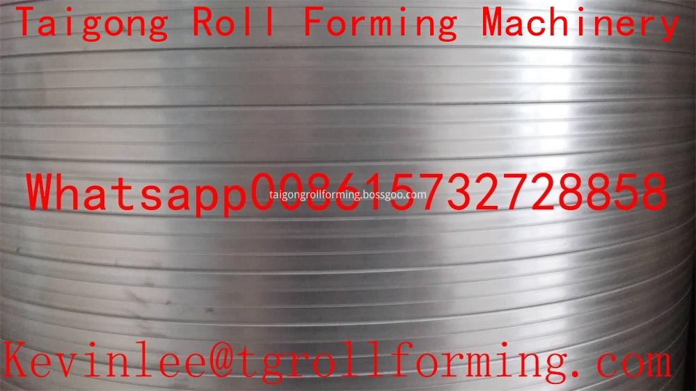 Metal Foil Aluminum Roller Forming Machine