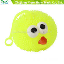 Свет мягкий пластичный Спайк птицы шарика детские игрушка