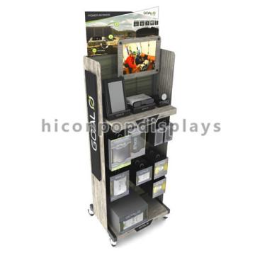 Free Design Metallic Movable Gaming Zubehör Produkte Werbung Spielkonsole Display Stand
