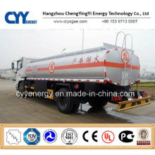 New China LNG Liquid Oxygen Nitrogen Lar Tank Car Semi Trailer