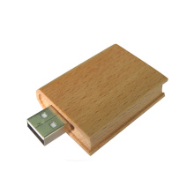 High Quality for Engraved Wood Usb Flash Drive Cheap Custom Book Shape USB Flash Drive export to Bahrain Factories