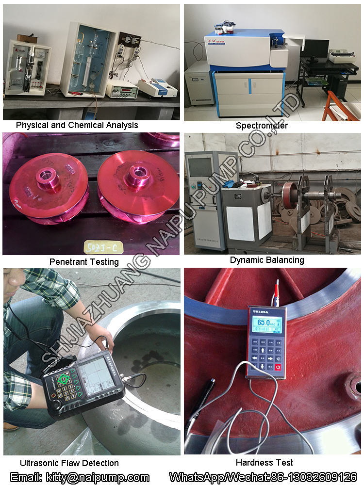 slurry pump Test