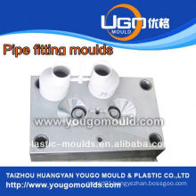 High quality good price plastic mould factory for standard size PVC pipe fitting molds in taizhou China