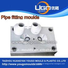 Fábrica de moldes plásticos de bom preço de alta qualidade para moldes de montagem de tubos de PVC de tamanho padrão em taizhou China