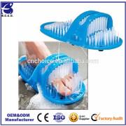 2017 Shower Feet Cleaner Scrubber Bath Brush Massager Easy Spa Treatment