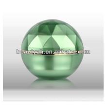 15ml 30ml 50ml Luxo duplo parede de plástico de diamante acrílico Jar
