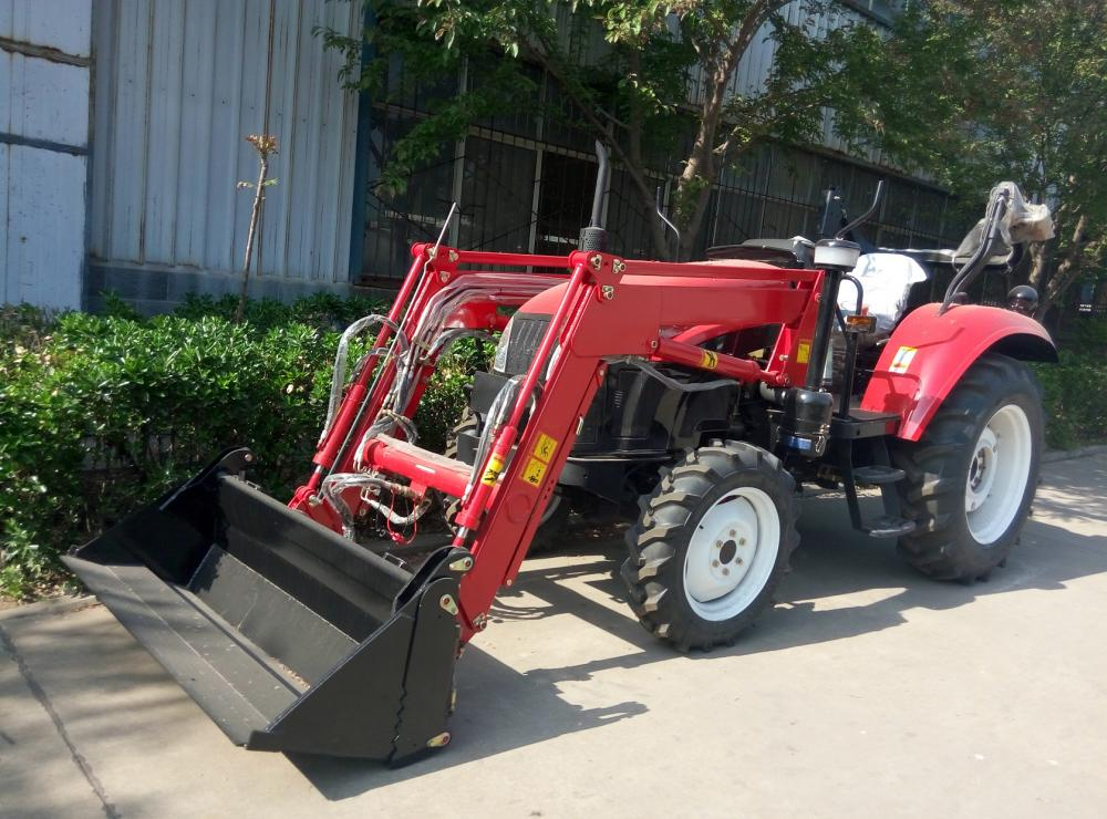 Priced Diesel Mini Front End Loader Tractor