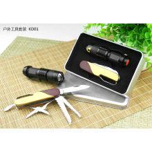 Мода подарок Многофункциональный нож с сталью углерода