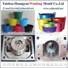 plastic household products of flexible plastic bucket mould making&injection mould manufacturer