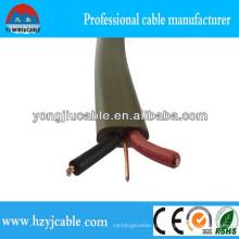 Двухжильный и заземляющий кабель, двухжильный кабель, 2-проводный + E