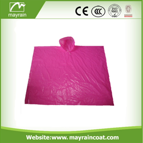 PE Disposable Rain Poncho