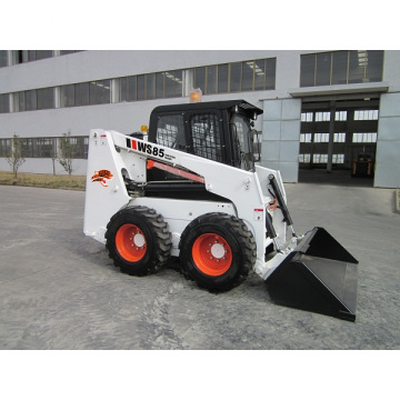Hot load mini skid loader