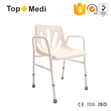 Topmedi Bathroom Safety Equipment Alumium Shower Chair Bath Bench
