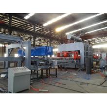 Placa de partículas / MDF Short Cycle Melamine Hot Press (lado duplo) Máquina