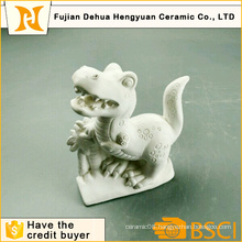 DIY Toy Paintable White Gypsum Dinosaur Craft for Desktop Gift