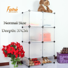 Cbinet de almacenamiento de plástico blanco DIY con muchos colores disponibles (FH-AL0525-6)