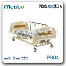 Fabricante Fuente Tres funciones Cama eléctrica de hospital Precio P304