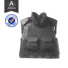 Tactical PE Body Armor com Bolsas Magazine