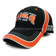 Constructed Piping Embroidery Sandwich Sport Baseball Cap (TRB079)
