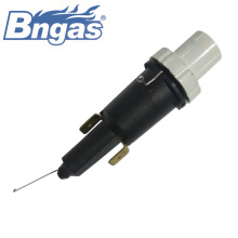 Gas piezo igniter push button ignition switch
