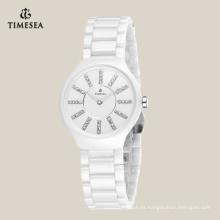 2016 últimas señoras populares reloj de cerámica de moda 71074