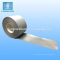 100% полиэфира серебряная отражательная ткань или лента
