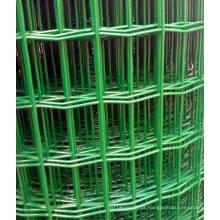 Rede de arame de PVC verde