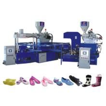 2 cores de plástico PVC Jelly Shoe Machine