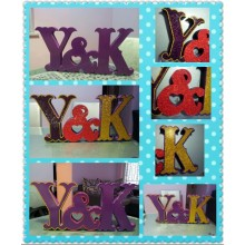 Birthday Party Decoration Happy Birthday Party Letter