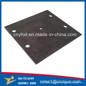 Servicio de piezas de corte de láser de acero laminado con revestimiento en polvo