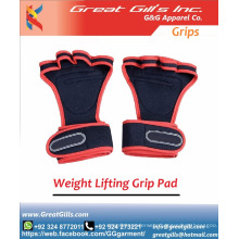 Neoprene Crossfit Gymnastics Grips Weight Lifting Straps With Adjustable Wrist Support Wrap and Palm Protecting Grip Pads