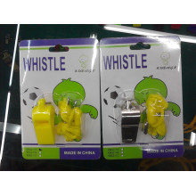 JML China Stainless Steel Metal Referee Whistle Plastic Whistle