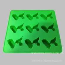 Bandeja feito-à-medida do cubo de gelo do Kitchenware do silicone