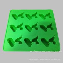 Cubo de cubitos de hielo de utensilios de cocina de silicona por encargo