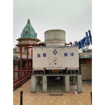 6 Cells Jnt-250 Super Low Noise Rectangular Cross Flow Cooling Tower