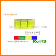 Material acrílico quadrado nível vial YJ-HG151740