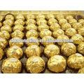 Papel de alumínio para embalar chocolate
