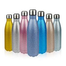 500ml Edelstahl-Glitter-Druck-Vakuum-Cola-Flasche