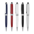 Gloss barrel metal pen