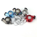 Electric Turbo Cigarette Lighter Keychain